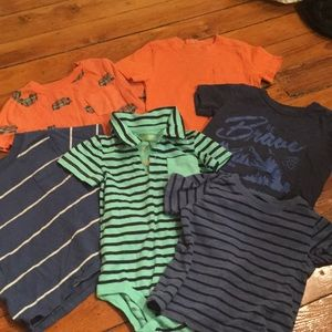 Other - 18 month lot! 6 short sleeved shirts